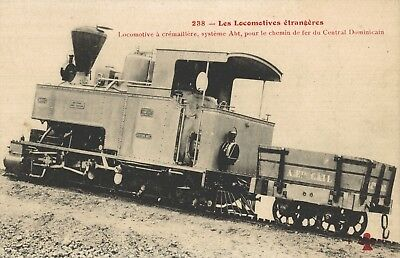 DOMINICAN REPUBLIC - FERROCARRIL, a typical RAILWAY ENGINE