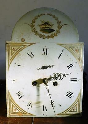 8 day longcase movement,