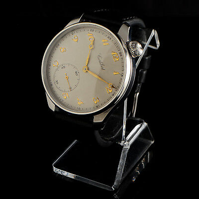 Cortebert Wrist Watch Mens Best Quality 16 Size 17 Jewels Swiss Movement Cal 590