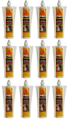 12 Sika Concrete High Strength 10.1oz. AnchorFix-1 Anchoring Adhesive Fast