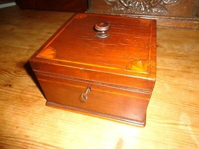 Antique Box with key