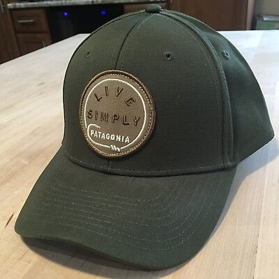 Patagonia Live Simply Hook Roger That Hat - NWOT - Kelp Forest - Fall 2016 546c07efb6bb