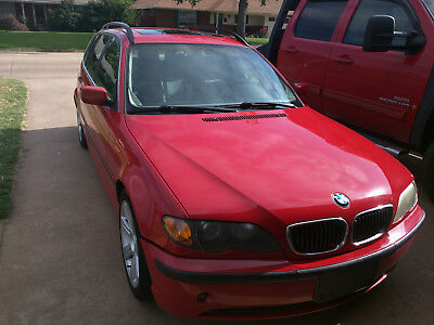 2002 BMW 3-Series sportswagon 2002 BMW 325i sportswagon rebuilt title