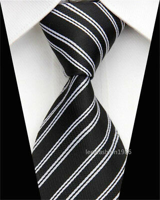 Wedding Silk Tie Skinny Business Necktie Jacquard Woven Slim Neck Ties for Men