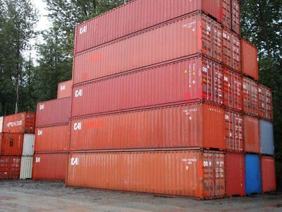 40Ft High Cube Used Shipping Container Wind And Water Tight Good Condition Cheap