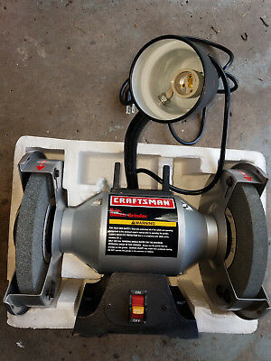 Terrific Craftsman 8 Bench Grinder New Open Box 1 4 Hp 3450Rpm Model Bralicious Painted Fabric Chair Ideas Braliciousco