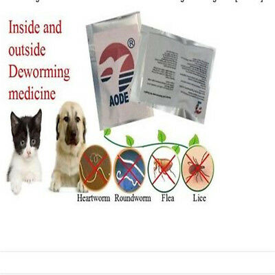 Easy ALL WORM Pet Dewormer for Cat/Kitten- Broad Spectrum kill parasites