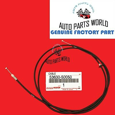 Lexus OEM Factory Hood Release Cable Genuine 2003-2009 GX470