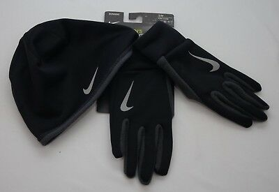 Nike Therma Hat and Glove Set Men's Size S/M New with Tags NRC34045SM