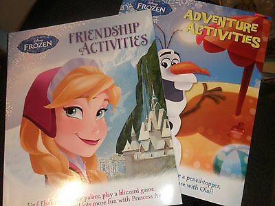"Disney"" Frozen"" 2 Brand New Activities  Books"