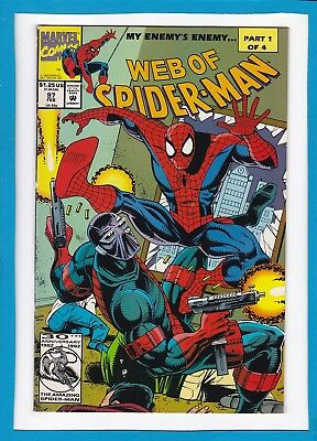 WEB OF SPIDER-MAN #97_FEBRUARY 1993_VERY FINE_BLOOD ROSE_1st APP CYBER-HUNTERS!