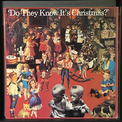 """Band-Aid - Do They Know It's Christmas? (1984) Vinyl 12"""" single • Sting"""