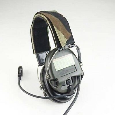 MSA Sordin SUPREME PRO HIGH NOISE HEADSET WITH BOOM MICROPHONE CAMO *NEW*