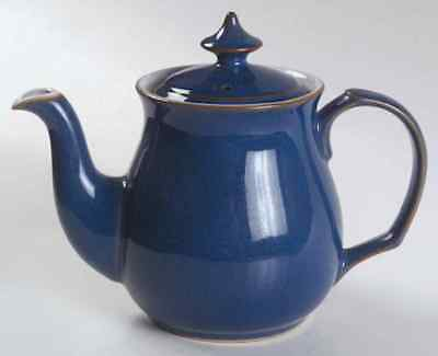 Denby Langley IMPERIAL BLUE Tea Pot 1194769