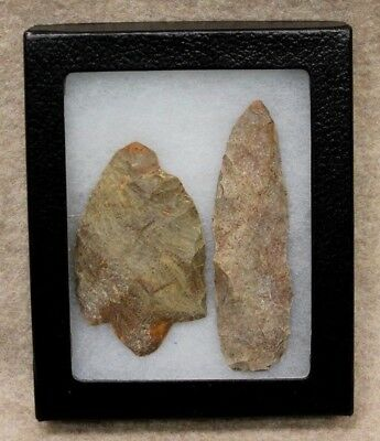 Archaic Spear Point & Knife dates back to 8000-2000 BC!! AMAZING CONDITION!!