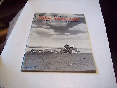 Vintage 1954 ENGINEERING BULLETIN NO FT-53  Farm Tractors