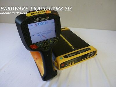 Vivax Metrotech Locator Set Model VLocPro2 w VX205-2 Transmitter **FAST SHIPPING