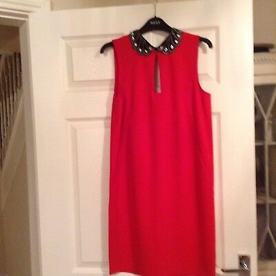 Next red cocktail/party dress size 10..... new with tags