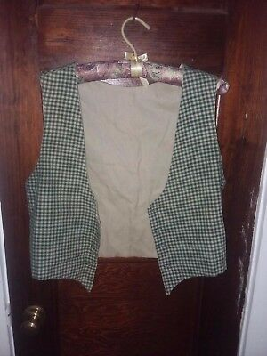 Women's Scottish  Bodice Size Med 18th Century, Rendezvous, Colonial Wear