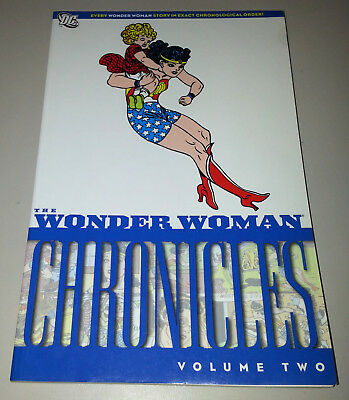 WONDER WOMAN CHRONICLES VOLUME TWO (DC 2011 TPB #2 TP SC ~ Marston / Peter)
