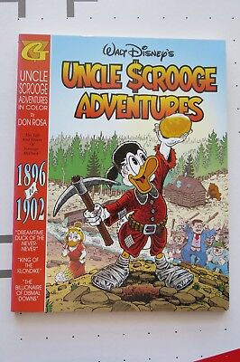 Walt Disney Uncle Scrooge Adventures 1896 To 1902 Very Rare Rosa Barks Gladstone