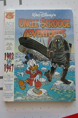 Walt Disney Uncle Scrooge Adventures 1902 To 1947 Very Rare Rosa Barks Sealed
