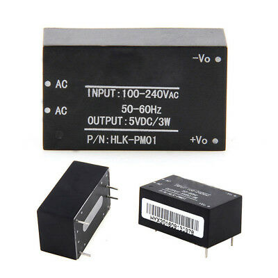 HLK-PM01 AC DC 220V to 5V Step-Down Power Supply Module Household Switch NEW