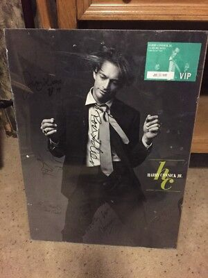 Harry Connick, Jr. - Come By Me Tour Autographed Signed W/vip Ticket Dated