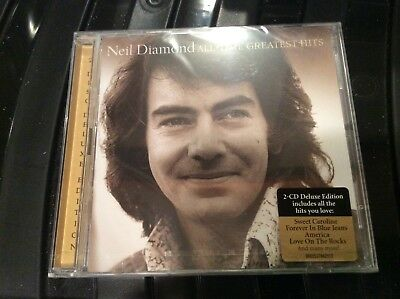 Neil Diamond All Time Greatest Hits 2Cd Deluxe Edition New/sealed.