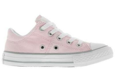 2ff1854e6a7 Girl s Youth CONVERSE CHUCK TAYLOR ALL STAR MADISON OX Pink Sneakers  658987F NEW
