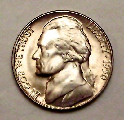 1950-D Jefferson Nickel__BU / MS__part of whole set listed