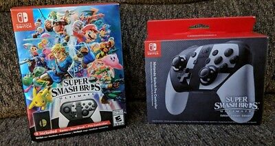 Super Smash Bros Ultimate Special Edition w/2nd Pro Controller - Nintendo Switch