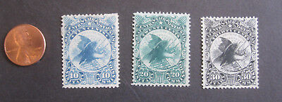 vTg 1864 WV11 WV12 WV13 10 20 30 ¢ US Civil War Sanitary Fair cpl set stamps NG