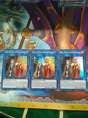3x  Isolde two tales of the noble knights Super rare SOFU