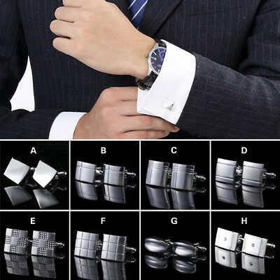 Men 's Shirt Cufflinks Cuff Links Formal Business Wedding Party Cuff Ornamnets