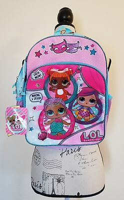 """😍 Brand New LOL Surprise! Theater Club 16"""" Full-Size Backpack : Fast Shipping!"""