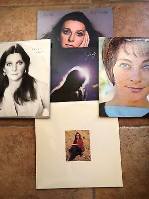 Lot of Five (5) Judy Collins LP Vinyl Record NICE!