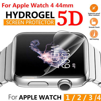 5D Hydrogel Soft TPU Screen Protector Film For Apple Watch iWatch Series 4 44mm