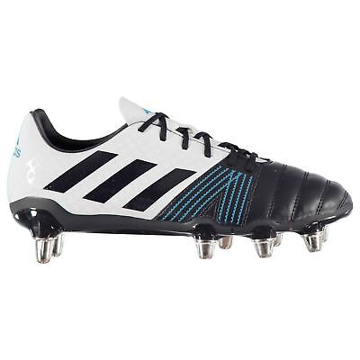 adidas Kakari SG Mens Rugby Union Boots Blue Trainers Footwear
