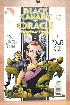 Black Canary Oracle Birds Of Prey #1 (Vf/nm) 1996 Dc Comics