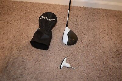 TaylorMade Golf M2 Driver Left Hand LH Tool and M1 Headcover Stiff 65 10.5 Loft