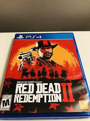 Red Dead Redemption 2 - PlayStation 4 PS4! WOW! PRISTINE!!