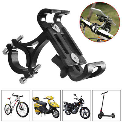 """360° Rotating Motorcycle Phone Holder Stand Bracket For 4""""-6.5"""" inch Smartphone"""