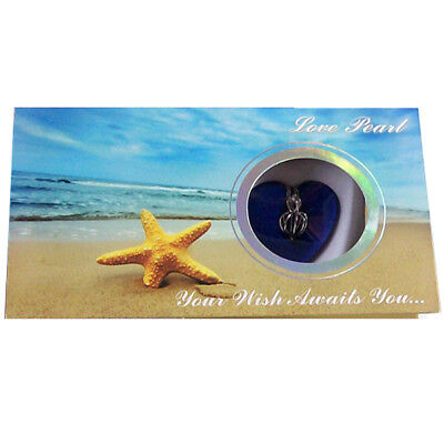 MERZIEs Love Pearl Oyster Cage STARFISH beige Gift Box Wish Necklace kit #2 -USA