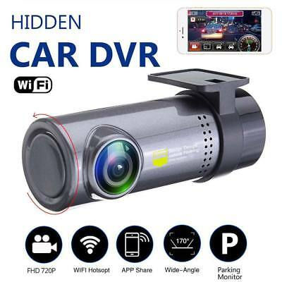 CAR WiFi DVR 720P dash cam rear camera dual lens video recorder