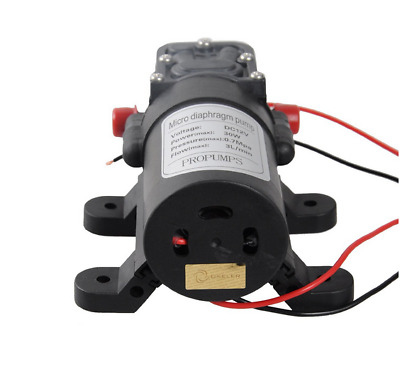 Motor High Pressure Diaphragm Water Self Priming Pump DC 12V 30W 0142 3L/Min