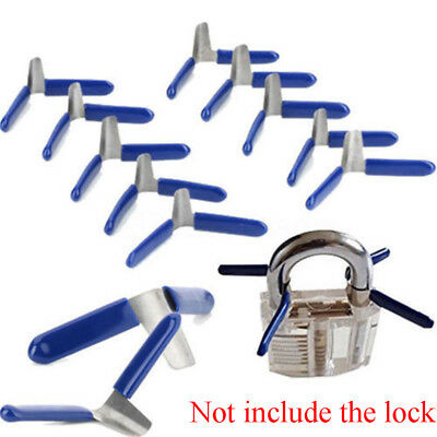 Metal  Locksmith Broken Key Extractor Unlocking Tool Kit Padlock Lock Opener