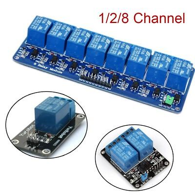 ARM AVR 5V Home Switch Arduino Board 1/2/8 Channel Relay Module Optocoupler LED