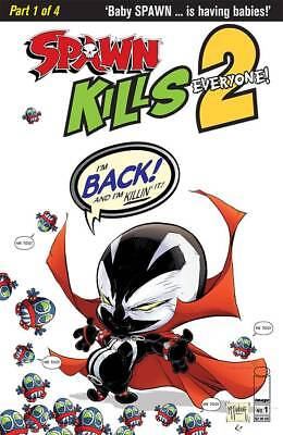 Spawn Kills Everyone Too #1 Cover A Clean Mcfarlane -  Release Date 12/12/18