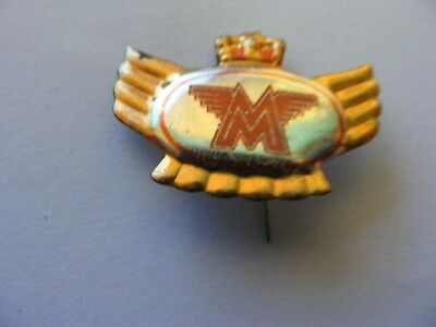 MATCHLESS  motorcycle very old lapel,hat pin badge(E).